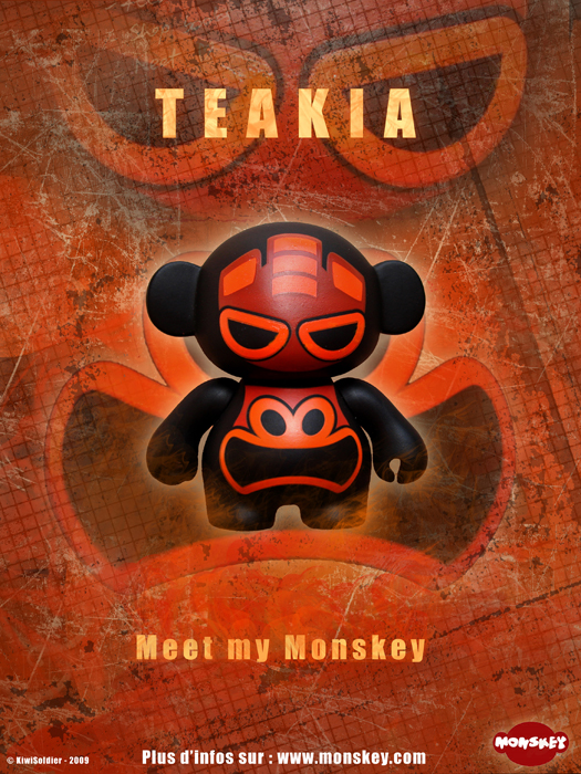 Self project : Monskey : Teakia screenshot