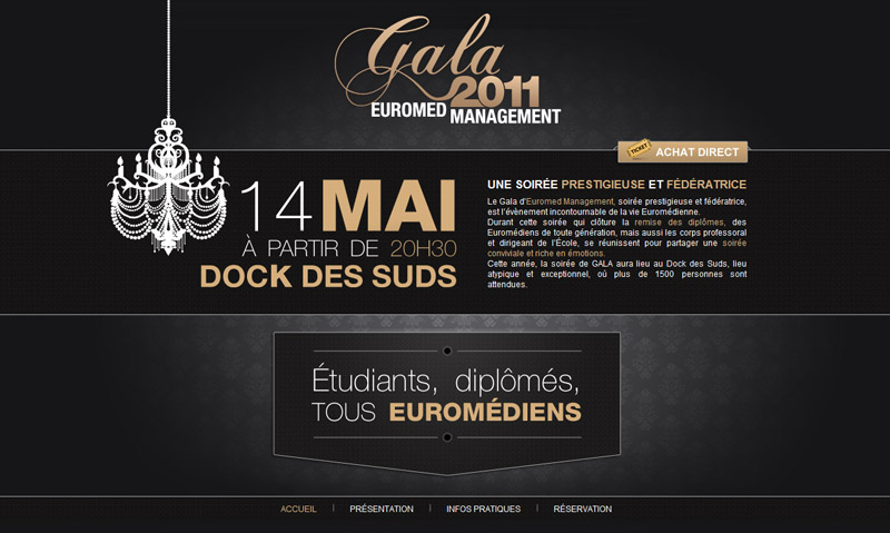 Gala 2011 Euromed Managment screenshot